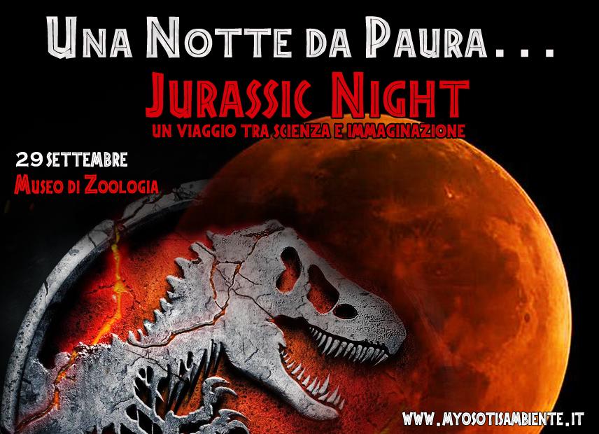 NOTTE AL MUSEO: JURASSIC NIGHT