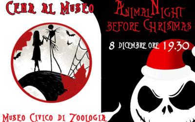 CENA AL MUSEO: Animal-Night Before Christmas