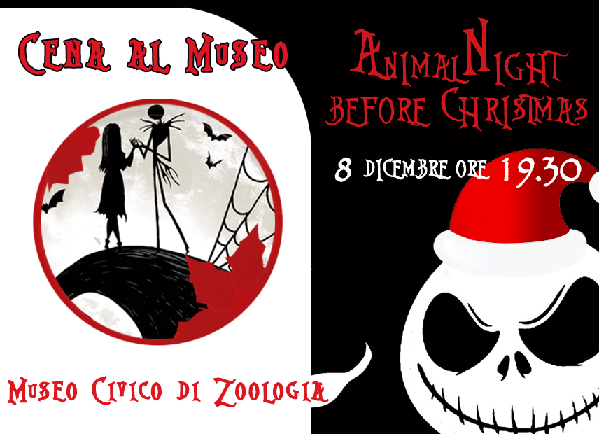 CENA AL MUSEO: Animal-Night Before Christmas