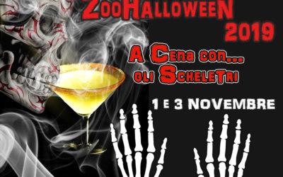 ZOOHALLOWEEN: A Cena con gli Scheletri!